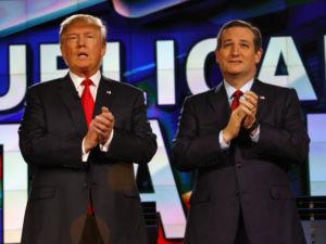 trump and cruz presidential debate