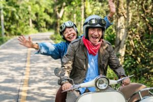 Happy Retired Couple Top 10 tax friendly states for retirement 300x200 2